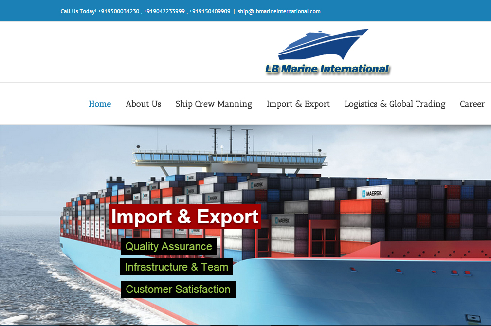 lbmarineinternational.com