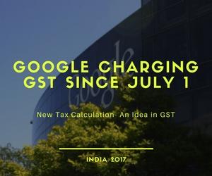 gst on google adwords india