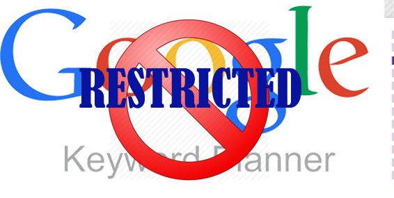 GOOGLE KEYWORD PLANNER RESTRICTED - FAJR TECHNOLOGIES