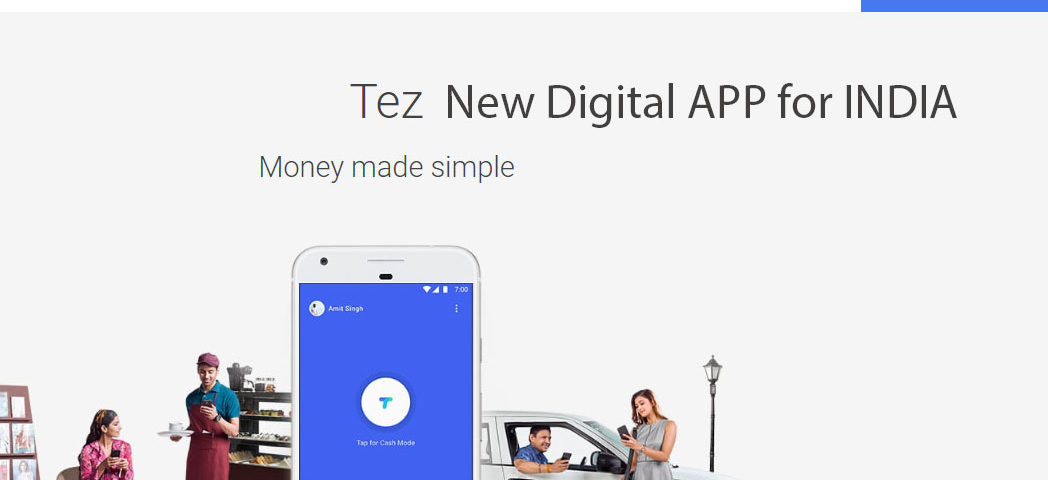 TEZ new digital app for India