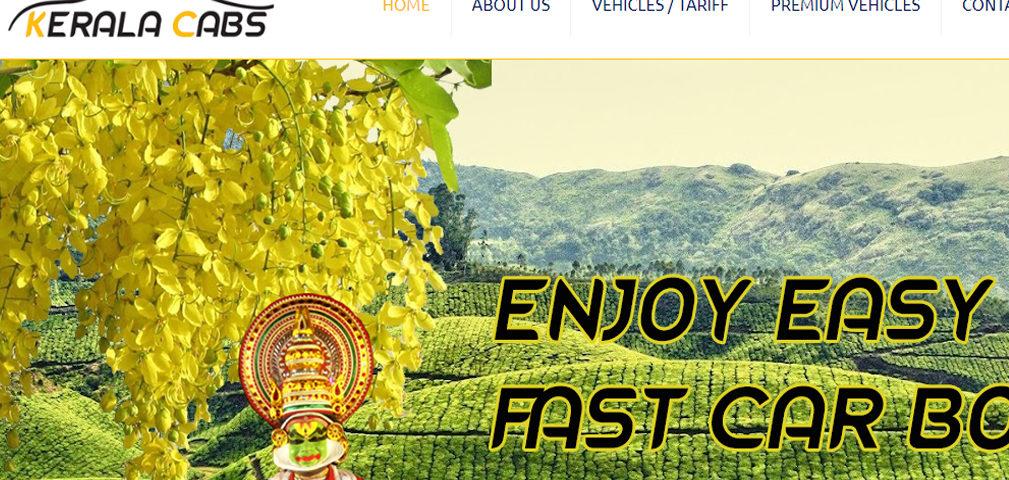 online car booking site kerala