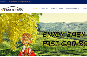 online car booking site kerala