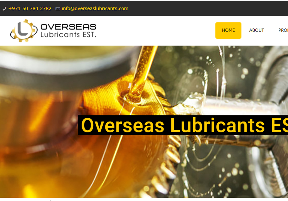 Overseas Lubricants oil collection UAE